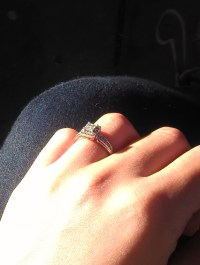 """Calling all """"small"""" engagement/promise rings ! - Weddingbee"""