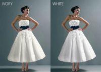 White or Ivory? UGH DECISIONS!! - Weddingbee
