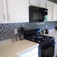 Black And White Tile Kitchen Backsplash Best Name Brand Appliances What Do You Think Of My Plan Weddingbee