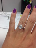 I want to see your OVAL HALO!