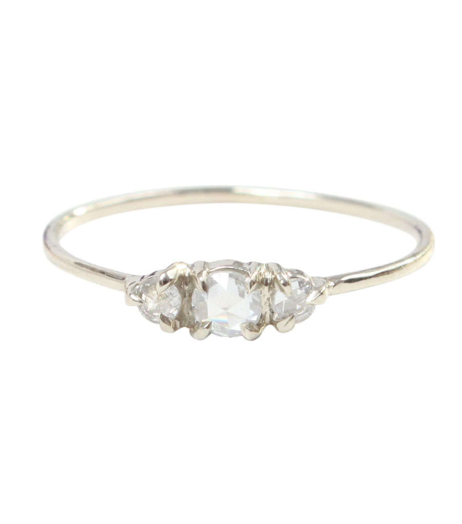 What Do You Think Of Simple Dainty Tiny Engagement Rings