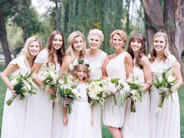Thoughts On Ivory Bridesmaids Dresses??