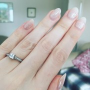 show wedding day nails