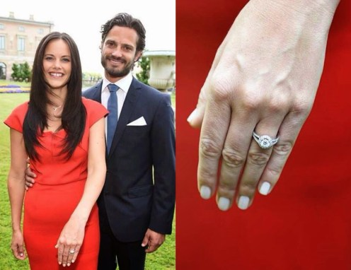Take a look at Meghan Markle's engagement ring and other royal rings over time!