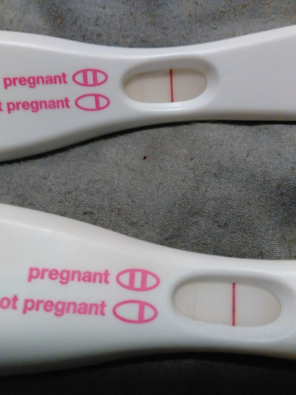 First Response Pregnancy Test False Positive - Year of Clean