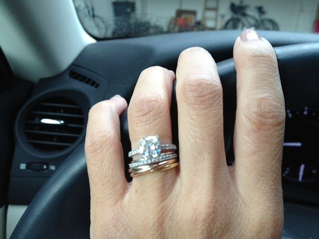 Cartier Trinity Ring As Engagement Ring