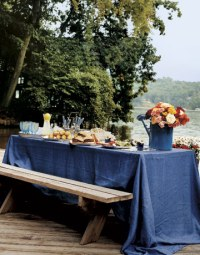 How in the world can you make picnic tables look good ...