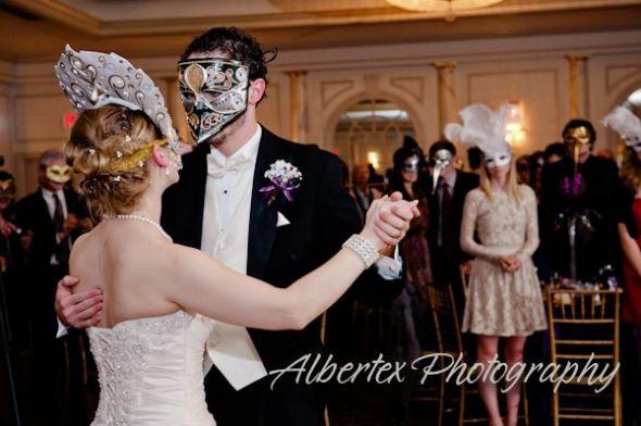 Masquerade Ball Wedding
