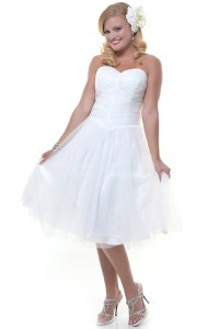 After Wedding Party Dress For Bride