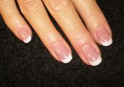 solar acrylic nails natural