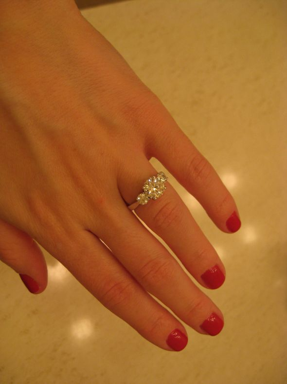 Show Me Your 3 Stone Rings With Carats Of Stones Weddingbee