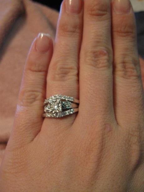 Middle Finger Diamond Rings