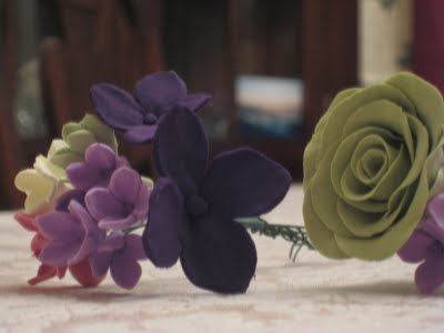 Clay Flowers: Filler Flower Tutorial :  wedding crafts diy flowers tutorial Img 835