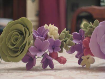 Clay Flowers: Filler Flower Tutorial :  wedding crafts diy flowers tutorial Img 83501