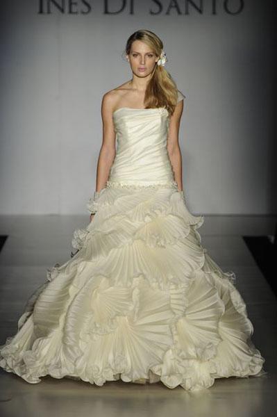 Bridal Market 2010 - Ines Di Santo :  wedding bridal market 2010  Val0062 _VAL0062