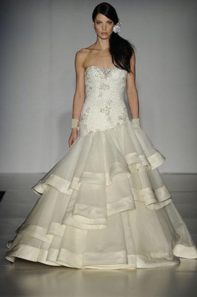 Bridal Market 2010 - Ines Di Santo :  wedding bridal market 2010  Val0090 _VAL0090