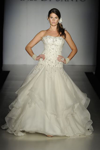 Bridal Market 2010 - Ines Di Santo :  wedding bridal market 2010  Val0475 _VAL0475