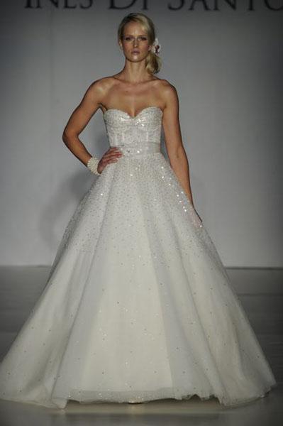 Bridal Market 2010 - Ines Di Santo :  wedding bridal market 2010  Val9805 _VAL9805