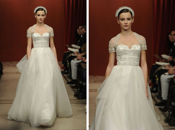 Bridal Market 2010 - Reem Acra :  wedding bridal market 2010 Ra1  ra1