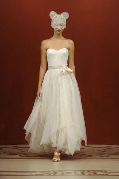 Bridal Market 2010 - Reem Acra :  wedding bridal market 2010  Val1179 _VAL1179