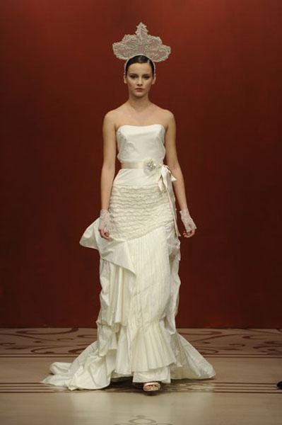 Bridal Market 2010 - Reem Acra :  wedding bridal market 2010  Val1254 _VAL1254