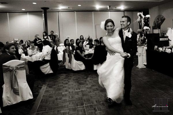 With this Wing: DIY First Dance :  wedding pictures pro pics recap san diego Hanssie01 Hanssie01