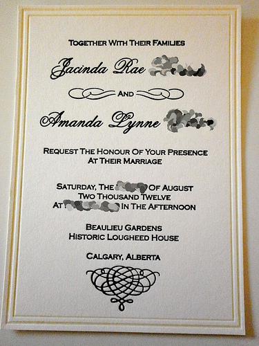 The Eagle Invitations: DIY Letterpress :  wedding calgary diy invitations stationery 7365370 7365370