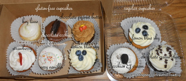 Cupcakes Galore! :  wedding food tallahassee 600x264 Our Tasting Assortment