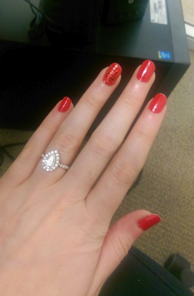 Real Engagement Rings Pear Amp Marquise Diamonds Weddingbee