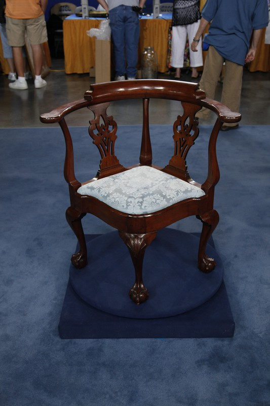 NY Chippendale Corner Chair ca 1760  Antiques