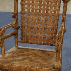 Heywood Wakefield Wicker Chairs Green Accent Chair With Arms Rocker Ca 1900 Antiques Roadshow Pbs Read Appraisal Transcript