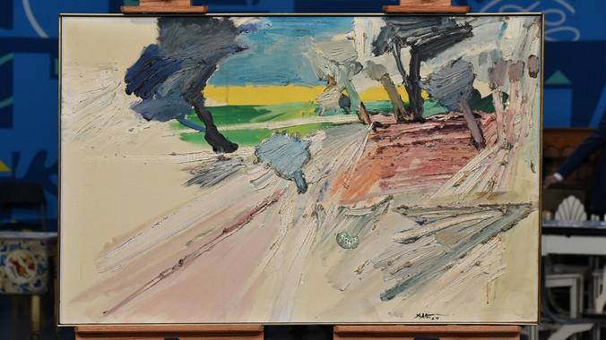 1964 Manoucher Yektai Oil Painting  Antiques Roadshow  PBS