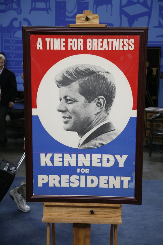 1960 john f kennedy campaign poster
