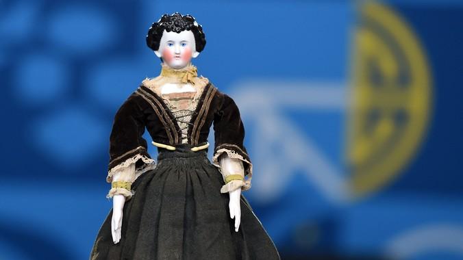 German FancyHair China Doll ca 1880  Antiques Roadshow  PBS