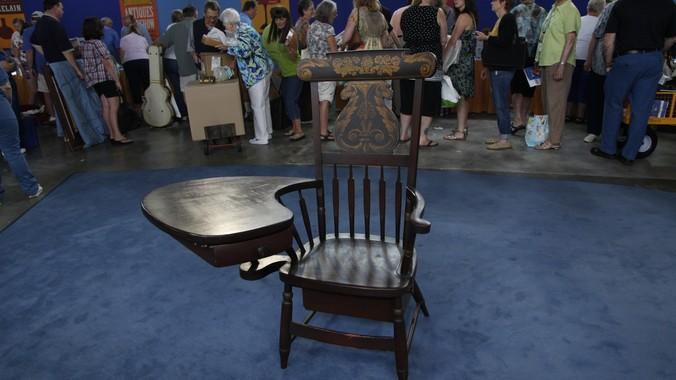 antique windsor chair hanging kohls writing arm ca 1835 antiques roadshow pbs read appraisal transcript