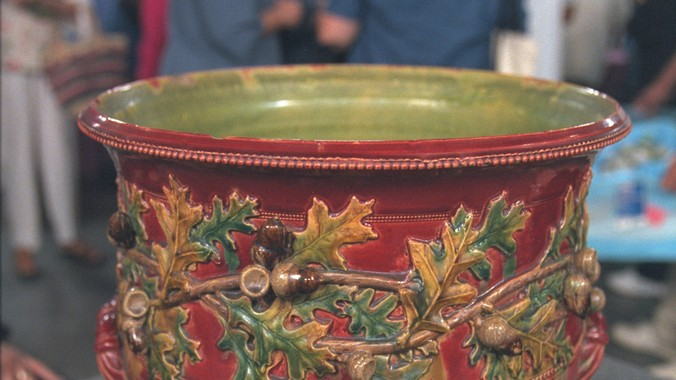 New Orleans Art Pottery Jardinire  Antiques Roadshow  PBS