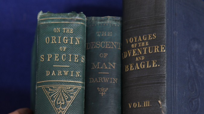Three Charles Darwin First Editions ca 1830  Antiques Roadshow  PBS