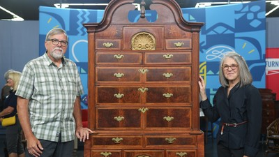 antique folding rocking chair value mobile stand appraisals | antiques roadshow pbs