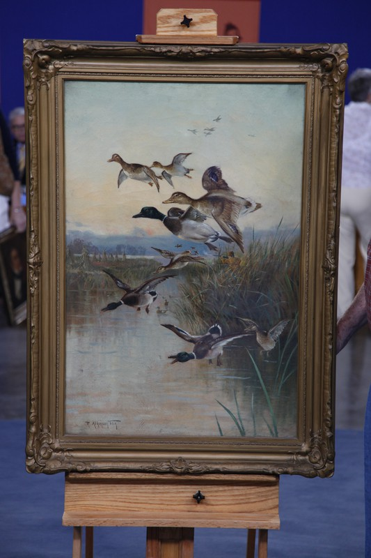 Early 20th Century Robert Atkinson Fox Oil Painting