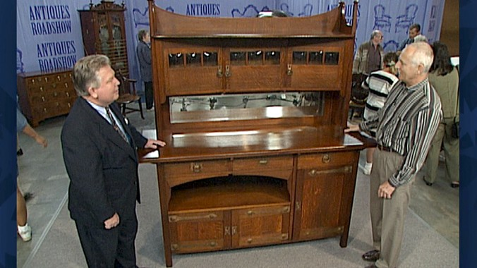 Arts  Crafts Sideboard  Antiques Roadshow  PBS