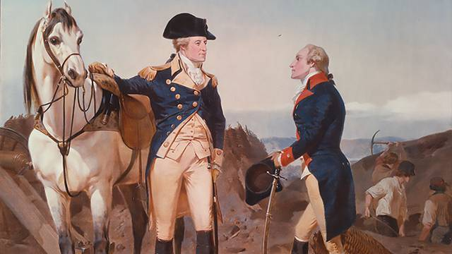 Alexander Hamilton And His Patron George Washington American Experience Official Site PBS