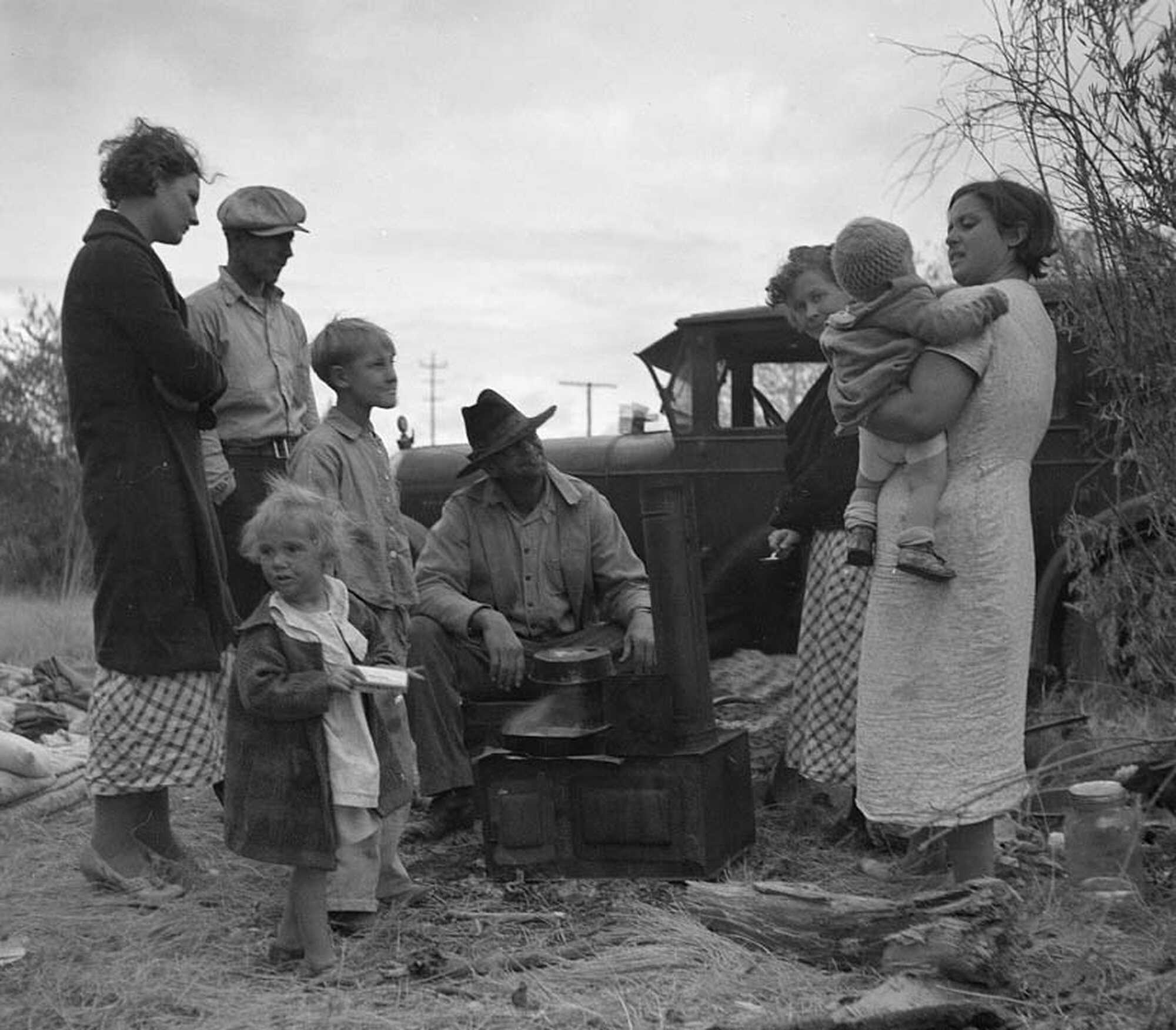 timeline the dust bowl