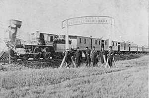transcontinental railroad timeline american