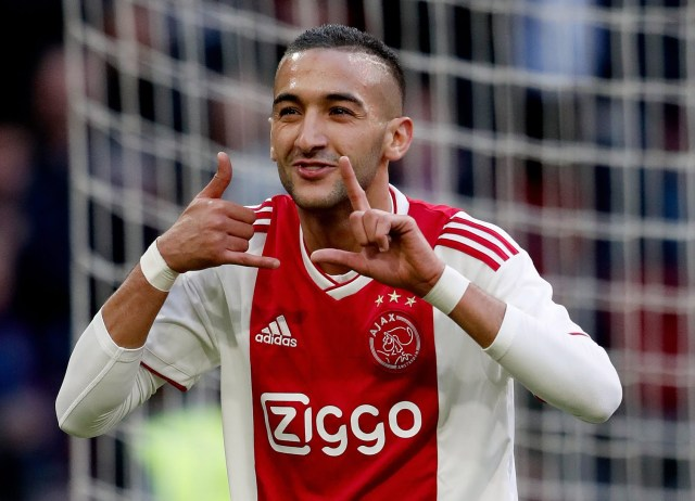 Chelsea agreed a £38m deal to sign Hakim Ziyech from Ajax earlier in the season