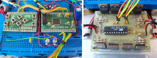 small resolution of figure 4 robot controller button cpld boards left h bridge right