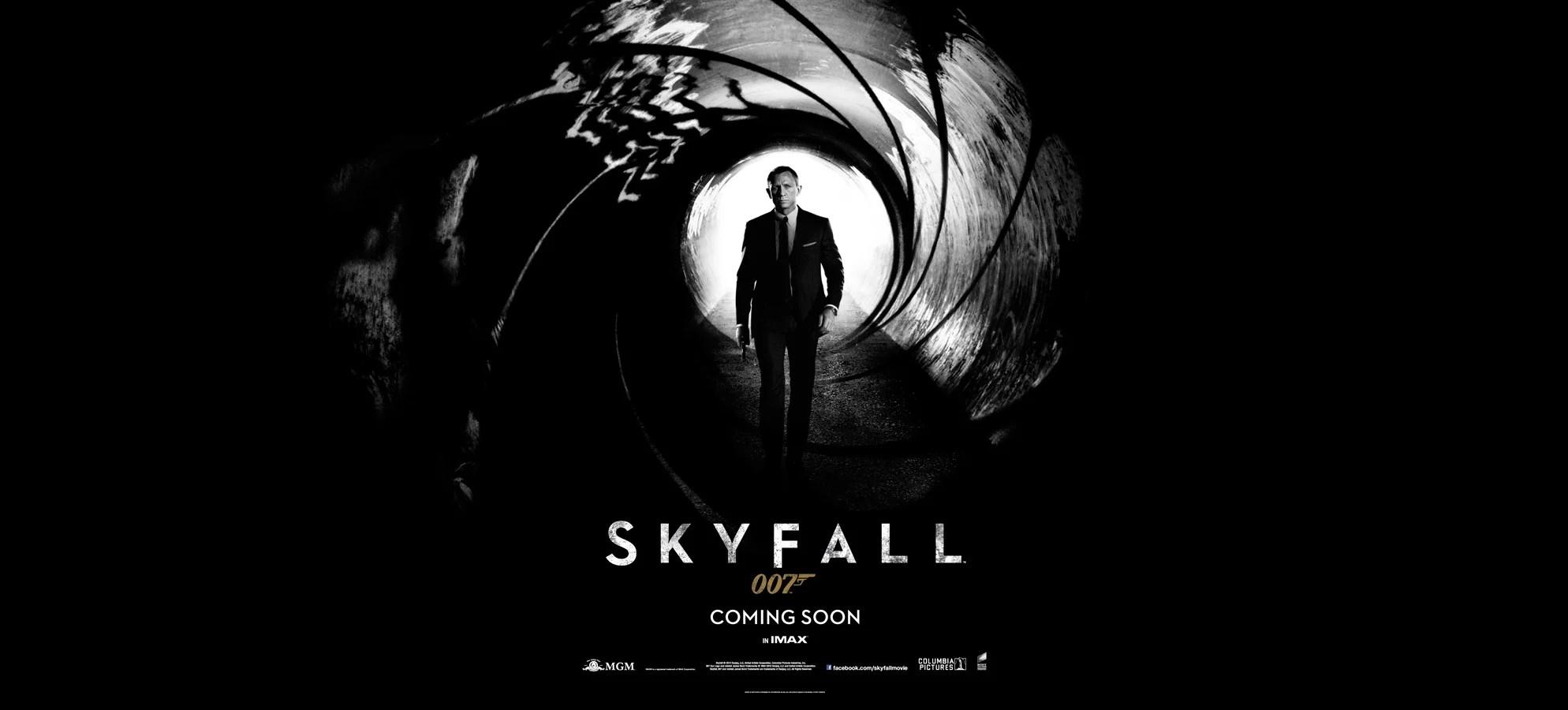 SKYFALL Poster Revealed