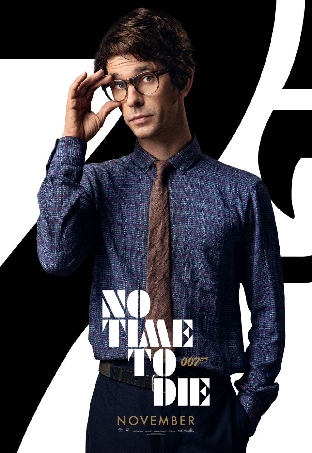 new no time to die character posters
