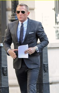 Bond 007 Ties Daniel Craig