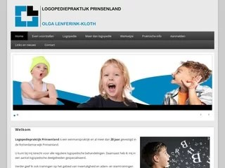 Drupal webdesign Logopedieprinsenland