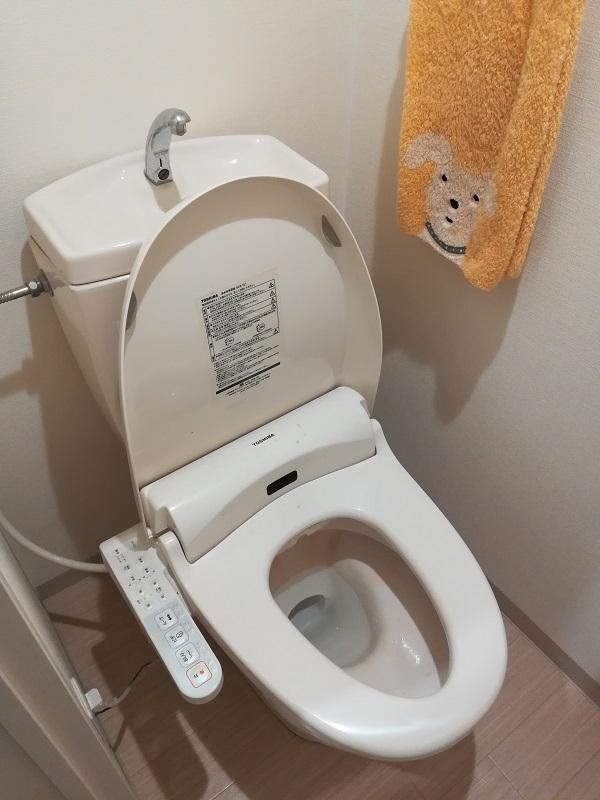 大阪府大阪市城東区にて原因のトイレのつまりを改善